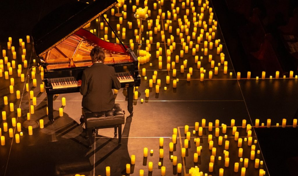 This Candlelight Piano Performance Will Light Up Stoller Hall