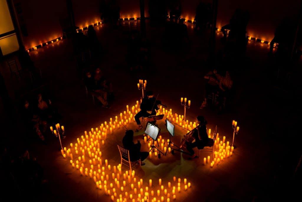Halloween candlelight concert