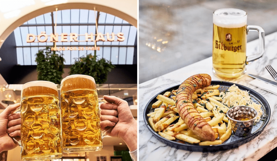 Doner Haus Is Hosting A Fun Oktoberfest Celebration With Steins, Bratwursts & So Much More
