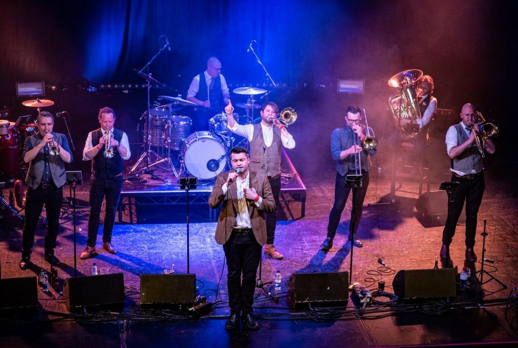 Britpop brass band