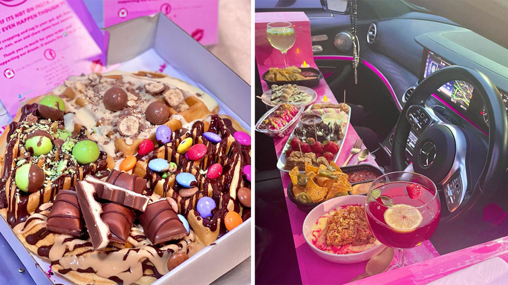 A Drive-In Dessert Restaurant Now Exists In Manchester & It's The Stuff Of Sweet Dreams