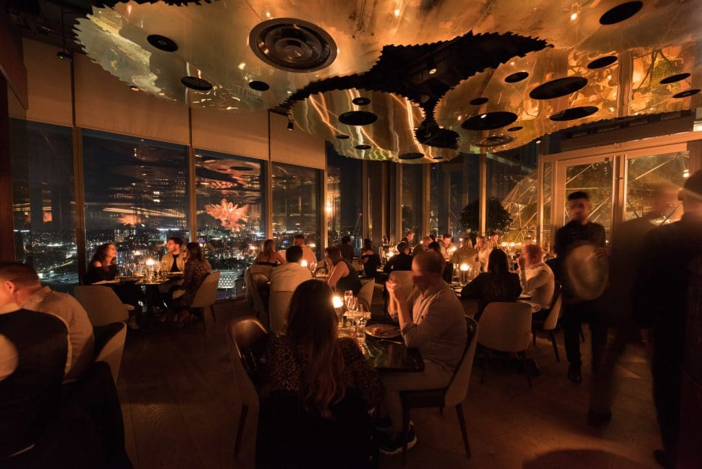 Enjoy A 'Blackout' Dinner By Candlelight At Manchester's Stunning Sky-High Restaurant