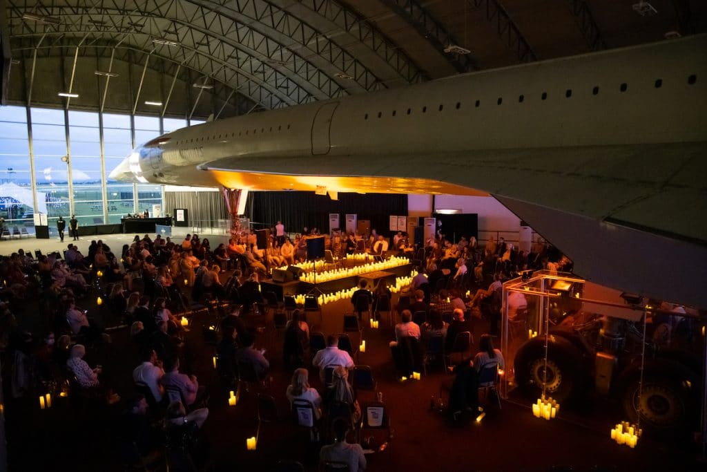 A Candlelight Tribute To Iconic Jazz Divas Is Taking Place Under A Concorde This November