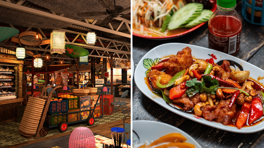Tuck Into All-You-Can-Eat Thai Food At The Trafford Centre's Newest Street Food-Inspired Restaurant