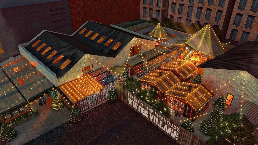 Ramona Is Set To Transform Into A Winter Village This Christmas With Tequila Cabins & Mulled Wine