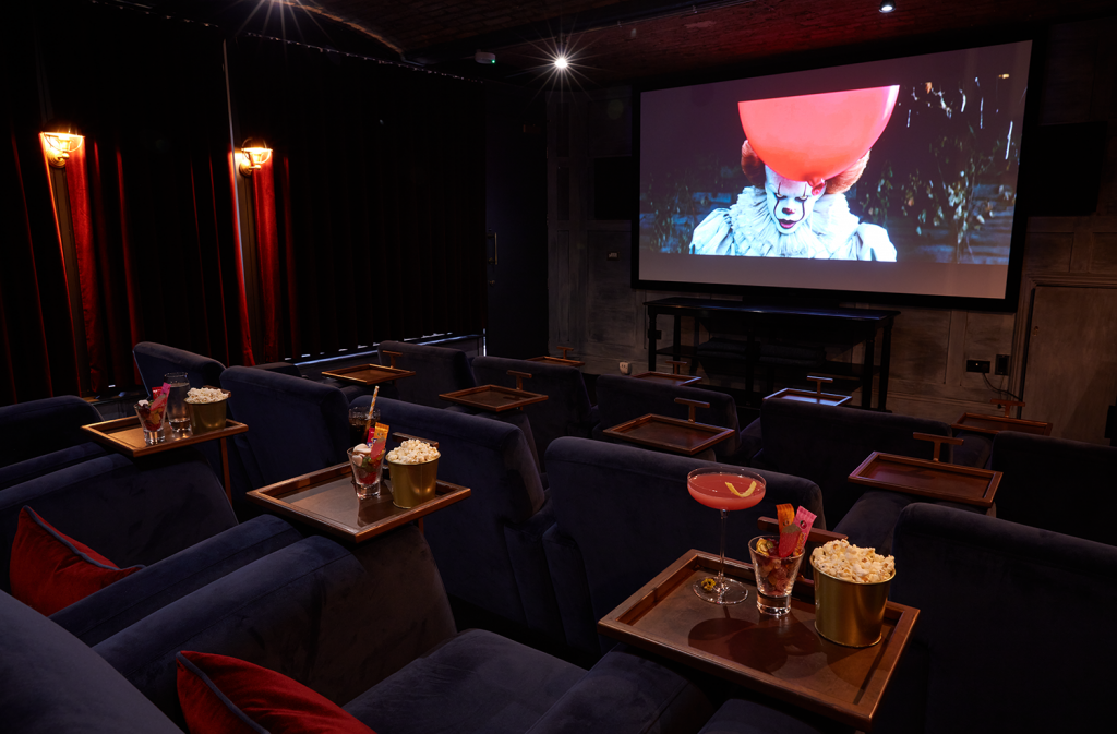A Spooky Film Night With Popcorn & Cocktails Is Coming To This Manchester Hotel This Halloween