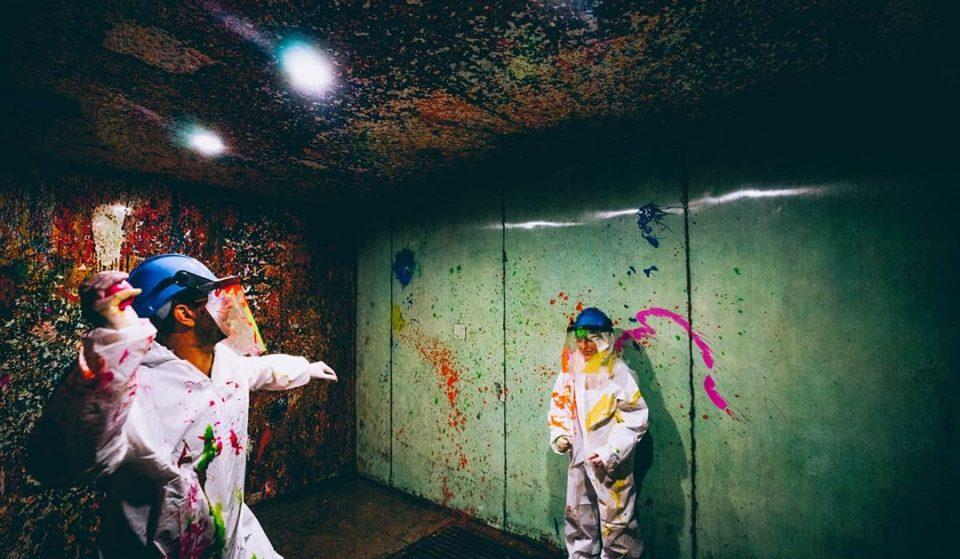 Hurl Paint At Walls Inside The World's First 'Splash Room' • Smash Splash