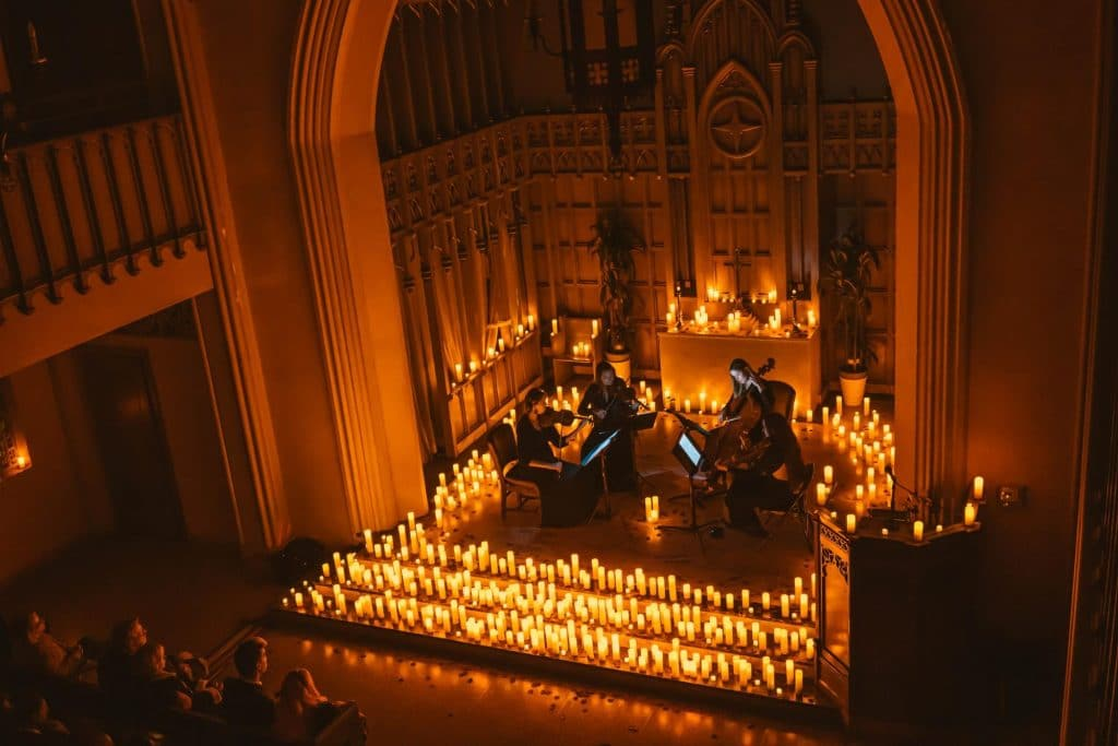 Candlelight Concerts In Melbourne Include Jazz, Pop And Tributes To Daft Punk, The Beatles And Queen
