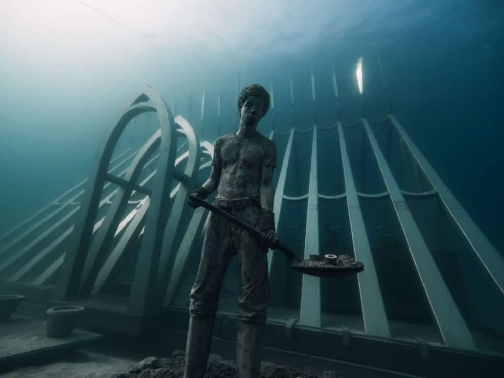 Queensland's Museum Of Underwater Art Is Only One Third Complete But It's Already Wow