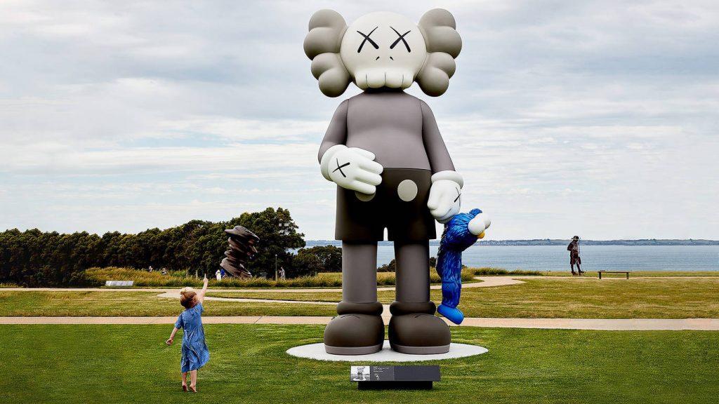 Go See NYC Artist KAWS' Massive Sculpture On The Mornington Peninsula