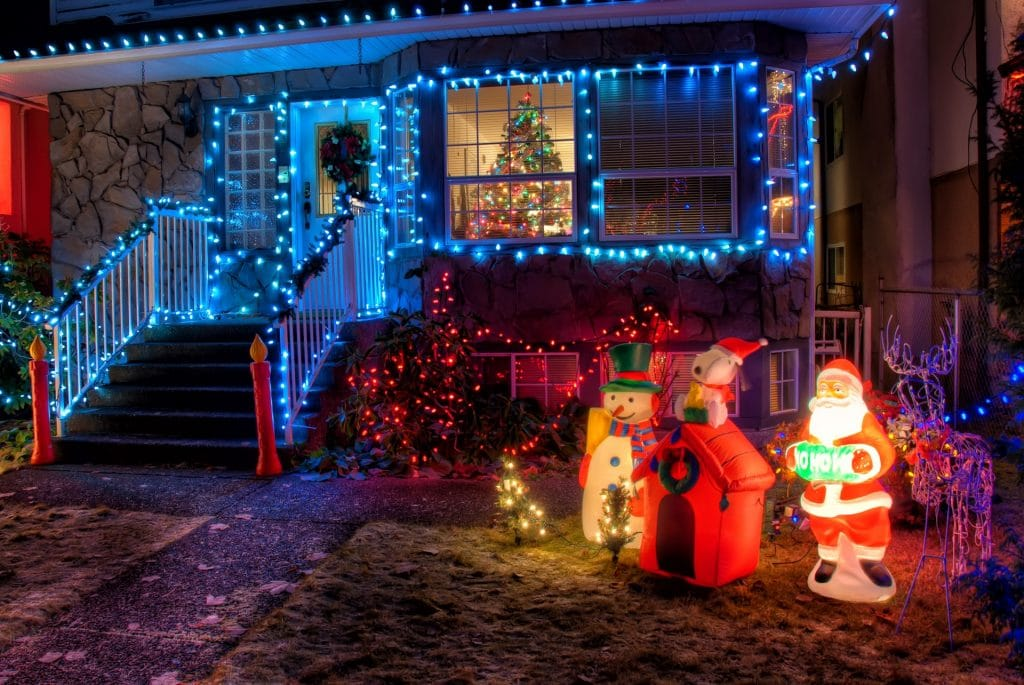 10 Of The Best Home Christmas Light Displays On Show This Festive Season