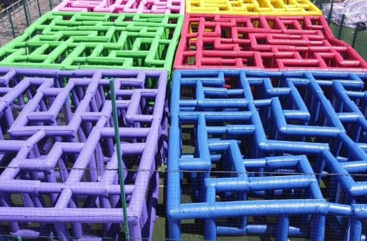 'The World's Largest Inflatable Maze' Pop-Up Fun Park Has Extended Its Melbourne Run