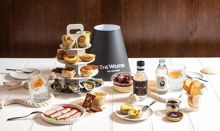 Sail The High Seas At The Westin Melbourne With Their Seafood And Gin High Tea Special