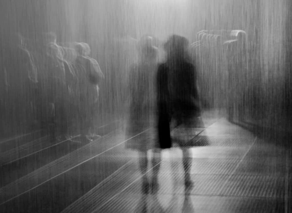 You Can Still Stay Dry In The Middle Of A Storm In Jackalope Pavilion's 'Rain Room'