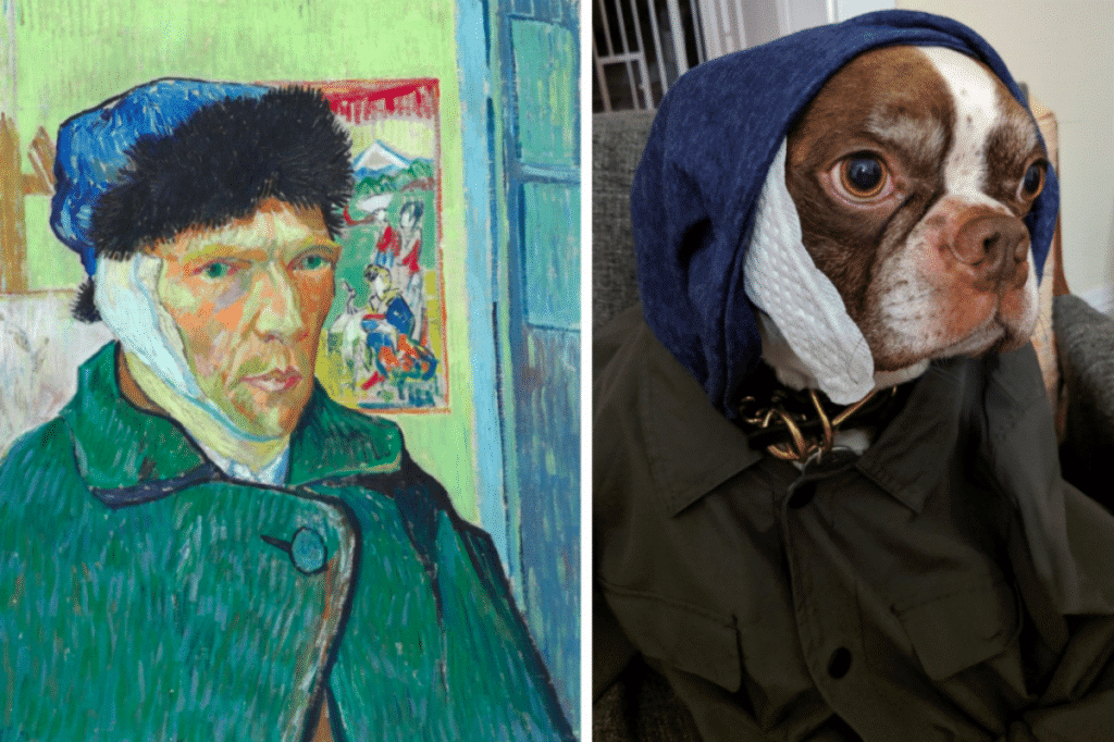 15 Brilliant Recreations Of Van Gogh Paintings To Pass The Time While We Wait For The Lume To Open
