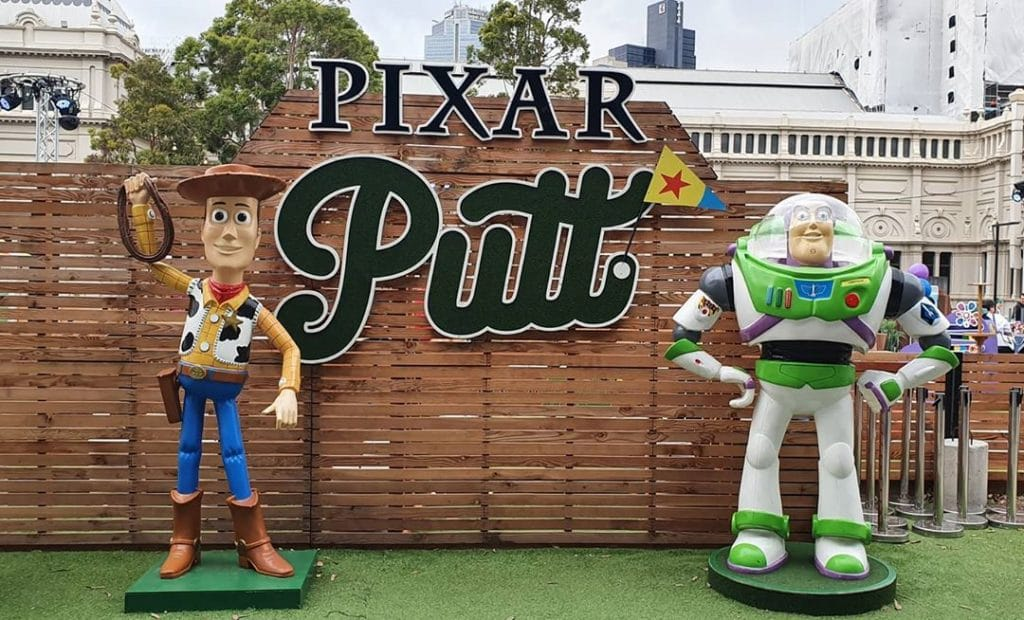 Pixar Putt Heads To Fed Square For Round Two With Even More Of Your Fav Characters