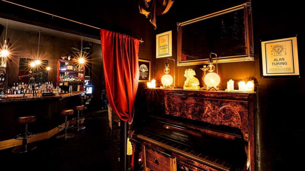 Northcote's New Astronomy-Inspired Bar Stays Up Late On Weekends · Kepler's Yard