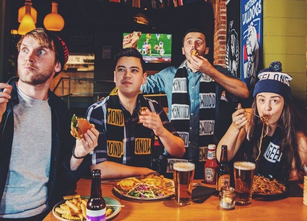 These Two CBD Pubs Are Doing Bottomless Feasts On Selected AFL Match Days
