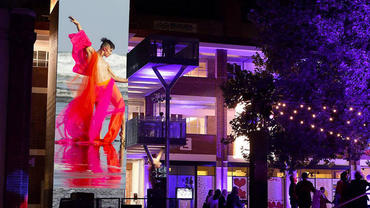 Collingwood Yards Is Hosting A Free Outdoor Projection Exhibition As Part Of Midsumma