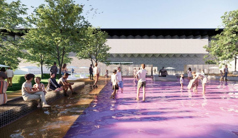 A Pink Pond You Can Wander Through Will Be Installed At The NGV In Time For Summer