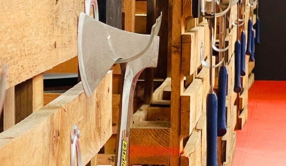 Melburninans Have Got A New Axe-Throwing Venue And It's Axecellent