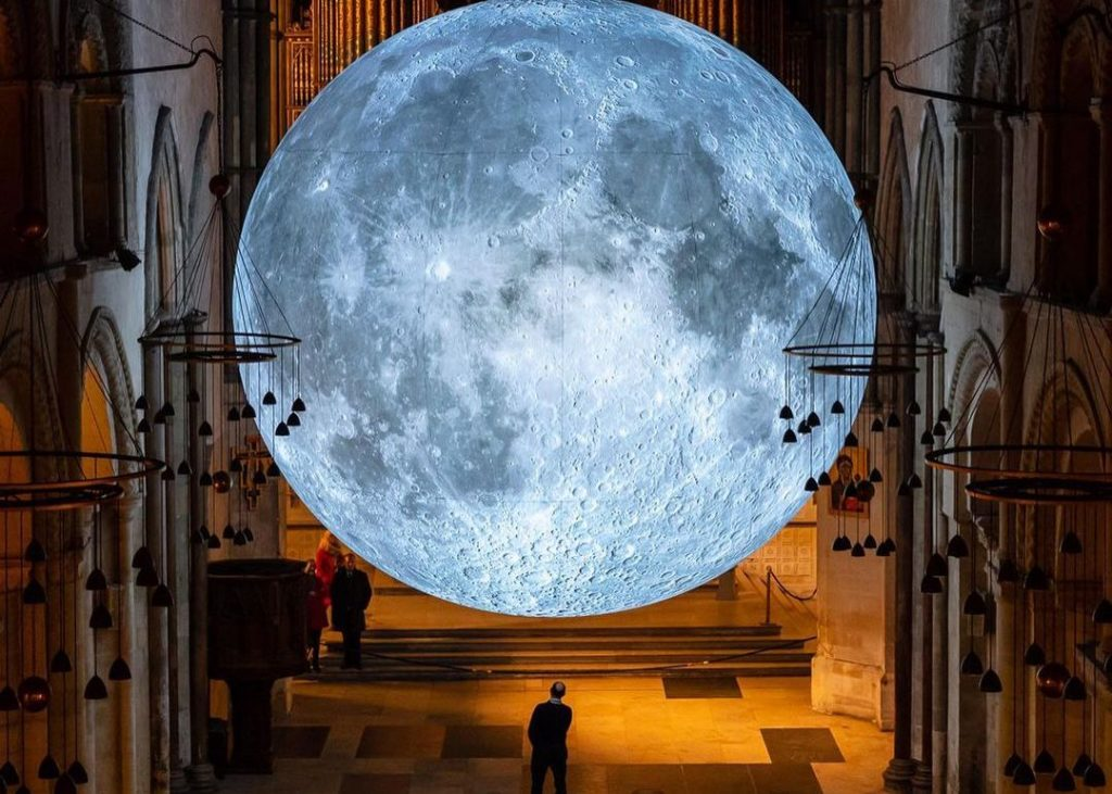 A Massive, Illuminated Model Of The Moon Is Coming To Bunjil Place