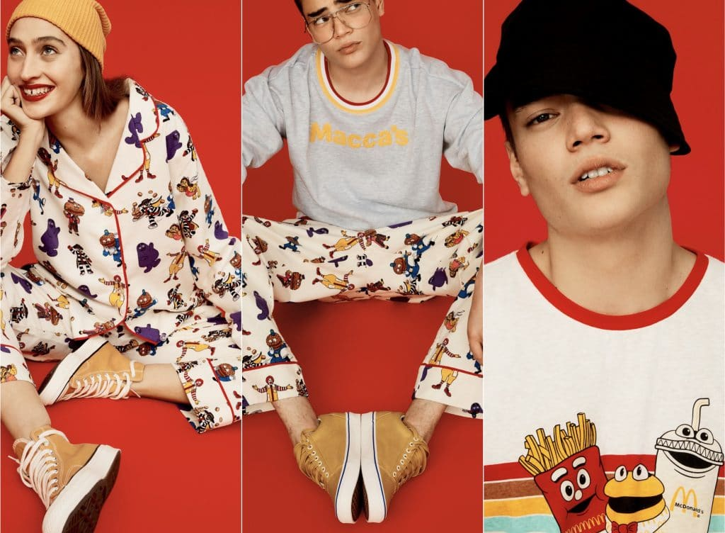 Maccas Teams Up With Peter Alexander For Limited-Edition PJ Range