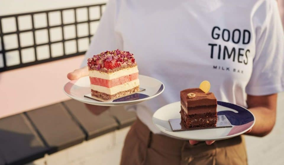 Treat Yourself To Black Star Pastry's Insta-Famous Cakes At Good Times Milk Bar For One Weekend Only