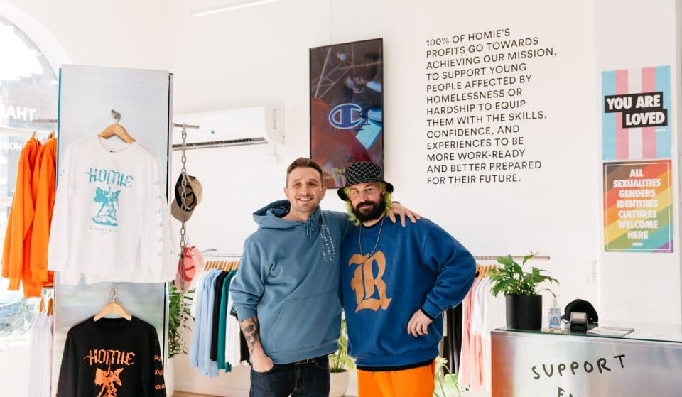 See Comedian Tommy Little Work The Till At HoMie Streetwear Store In Fitzroy