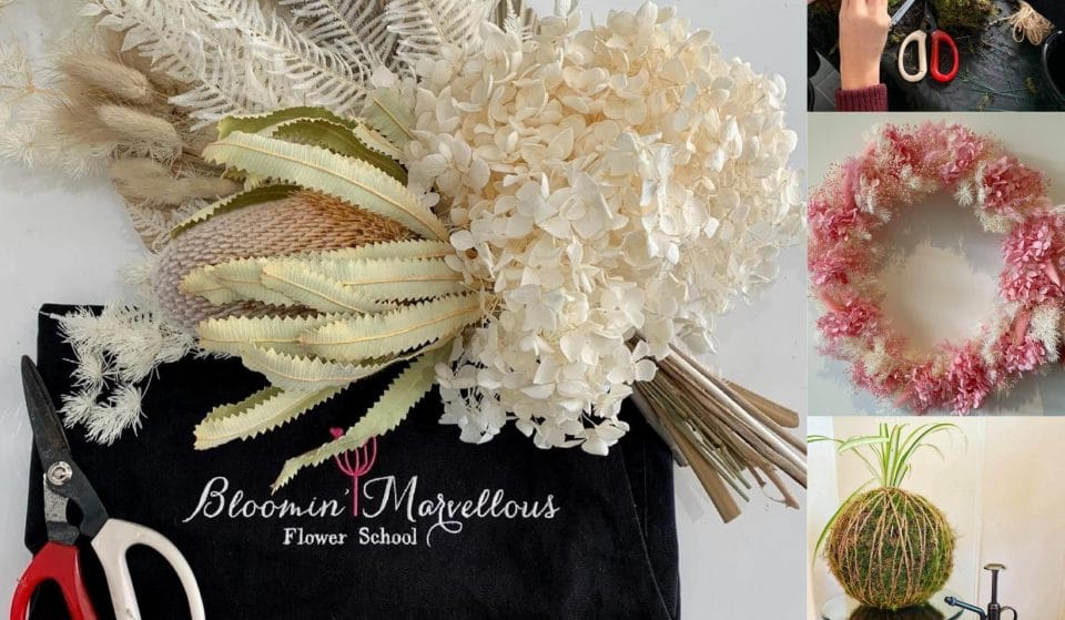 Embrace Your Inner Budding Artist With Flower Workshops By Bloomin' Marvellous