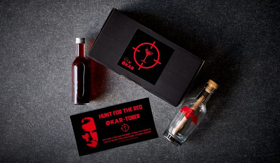 There's A Treasure Hunt In October And The Weekly Clues Come With Limited-Edition Økar Cocktails