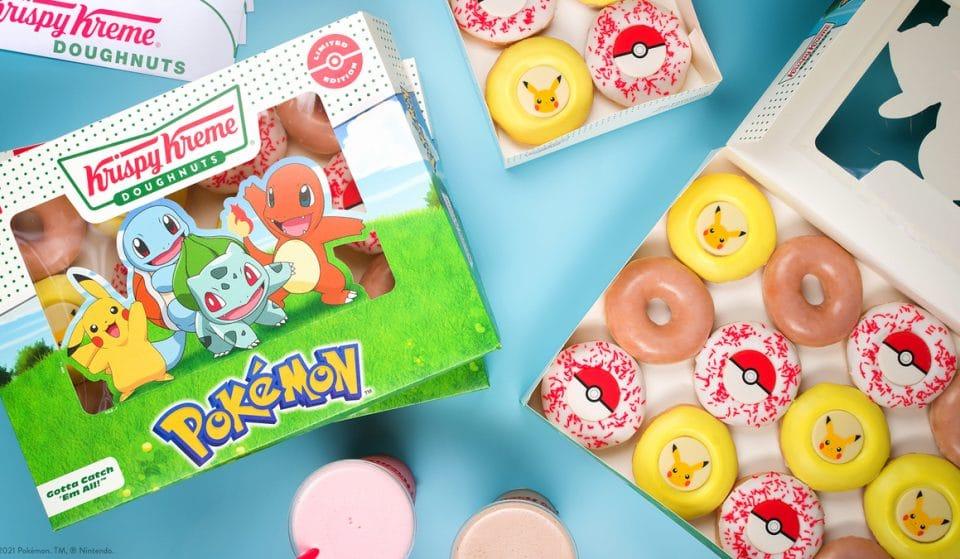 Krispy Kreme Will Help You Catch 'Em All With Their Pokemon Doughnuts