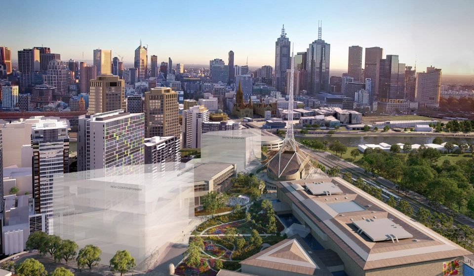 Australia's Largest Contemporary Art Museum Is Coming To Southbank • NGV Contemporary