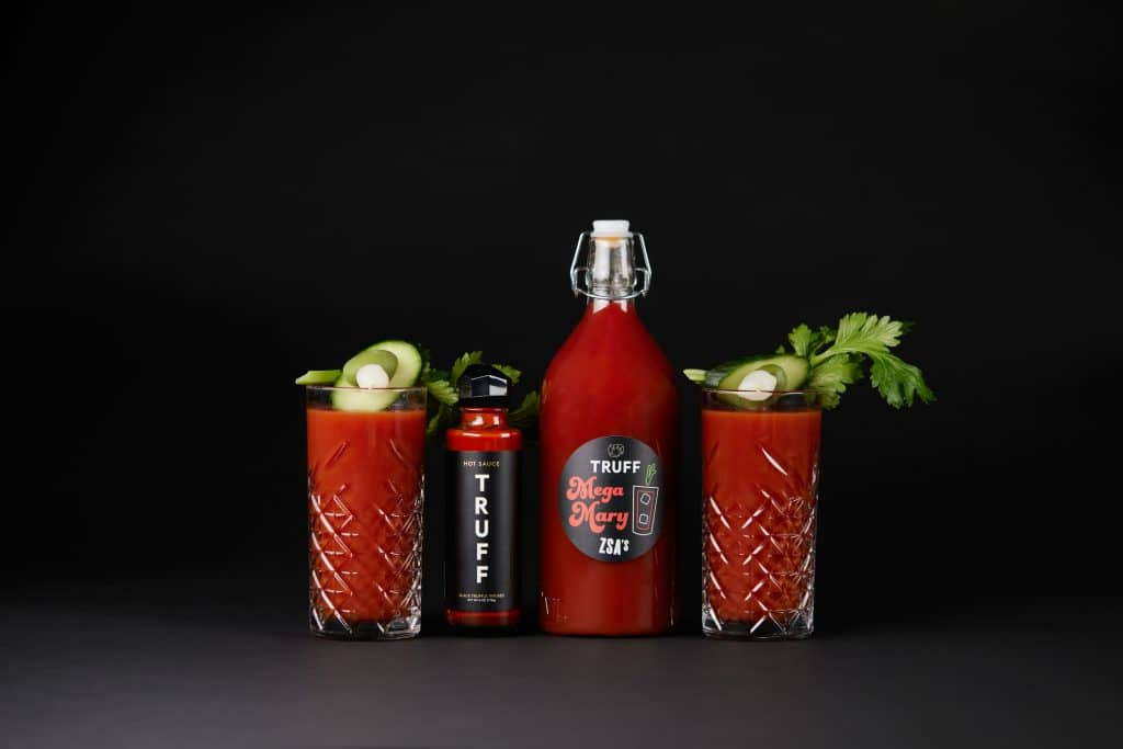 A Bloody Mary from Zsa's with hot sauce