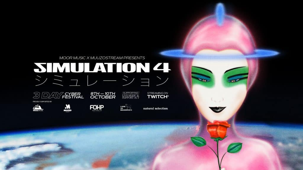 Dust Off Your Spacesuits For Simulation 4 — A Free Three-Day Cyber Festival