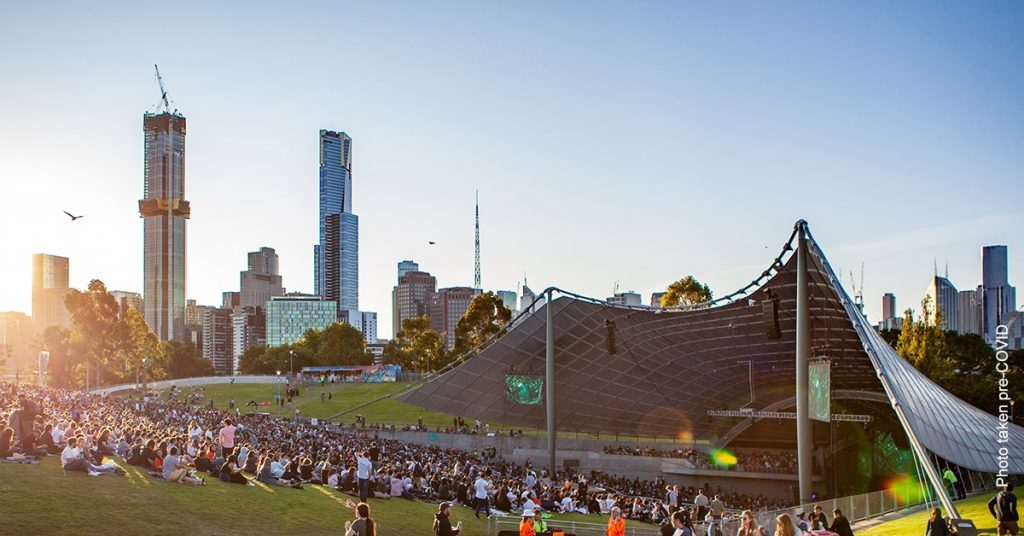 an image of Sidney Myer Music Bowl