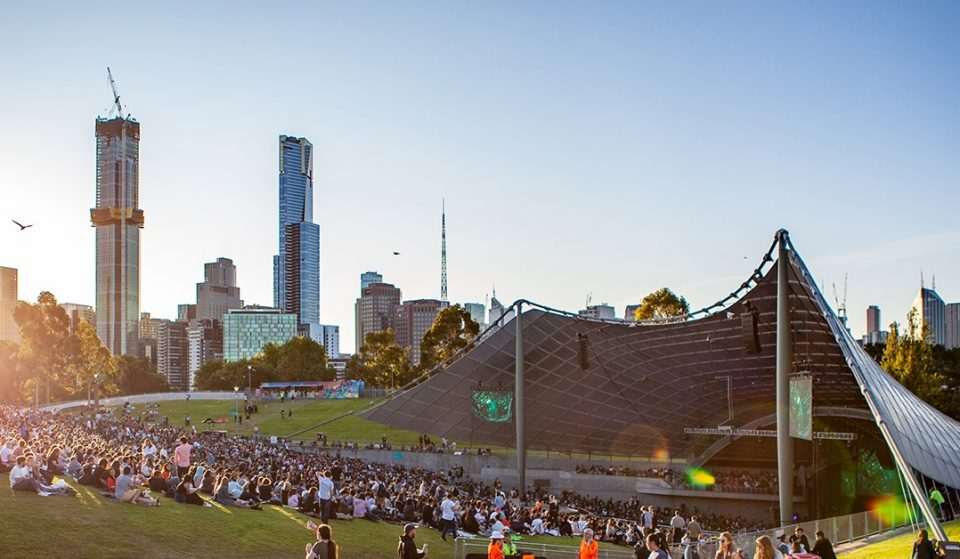 Get Excited — Live Music Is Returning To Sidney Myer Music Bowl On October 30