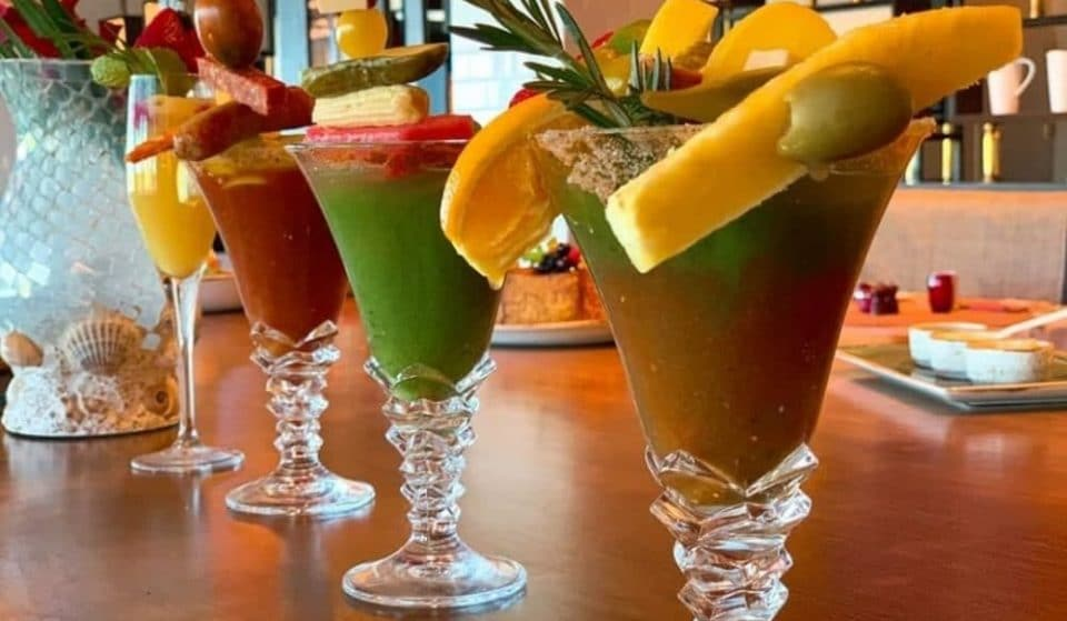 This Naples Hotel Has A Giant Build-A-Bloody-Mary Bar • Naples Grande Beach Resort