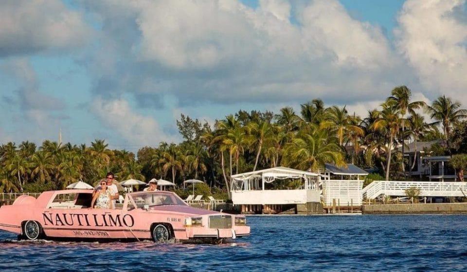 Now You Can Cruise Through The Keys In This Impossibly Pink Limo