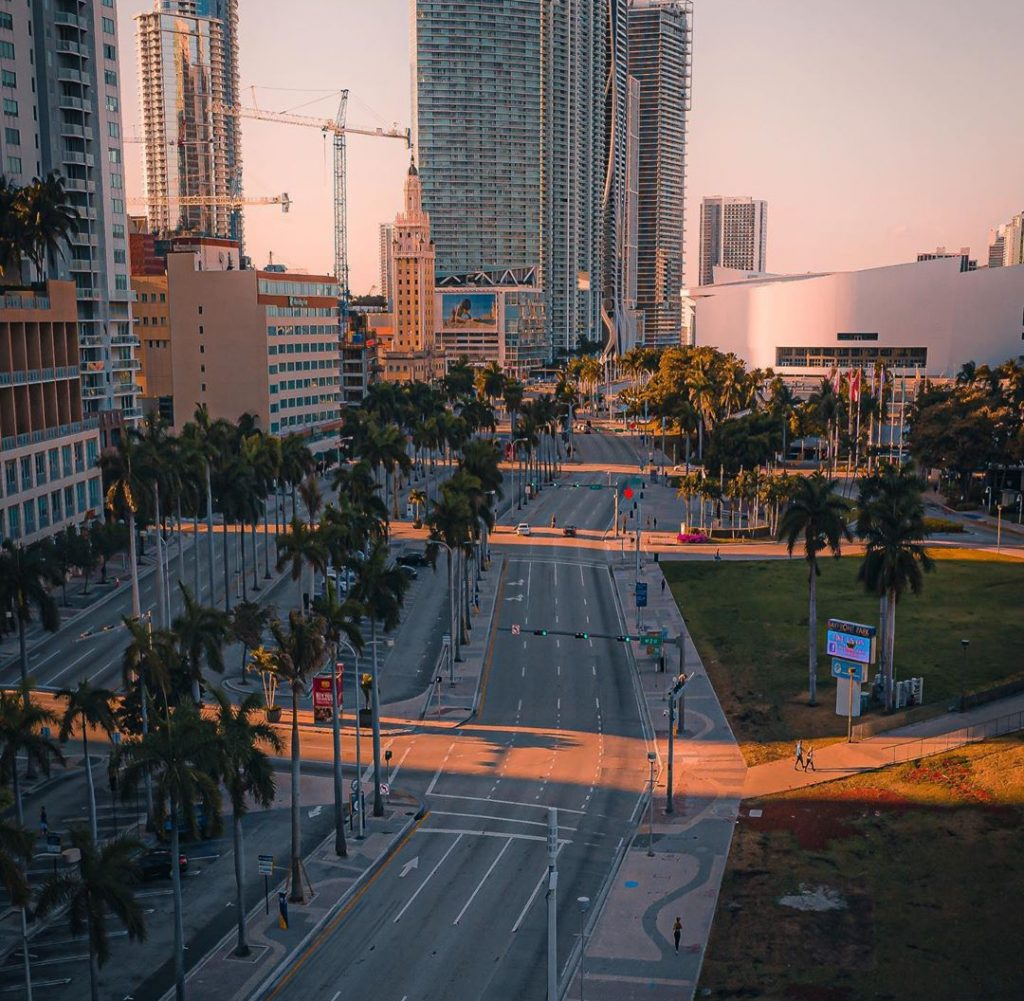 10 Pictures Of Miami Looking Unusually Empty While People Quarantine