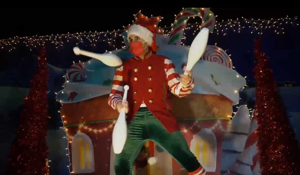 Santa Is Getting Ready For Christmas With A Magical New Drive-Thru!