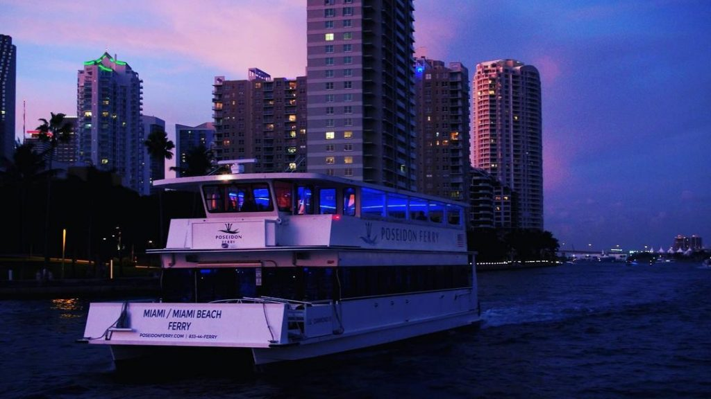 This New Ferry Service Will Take You Across Biscayne Bay In 20 Minutes