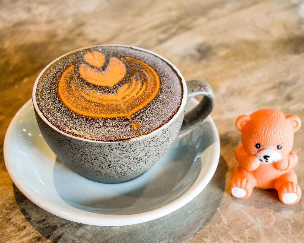 This Miami Café Serves Whimsical Glitter Lattes • Bistro Café