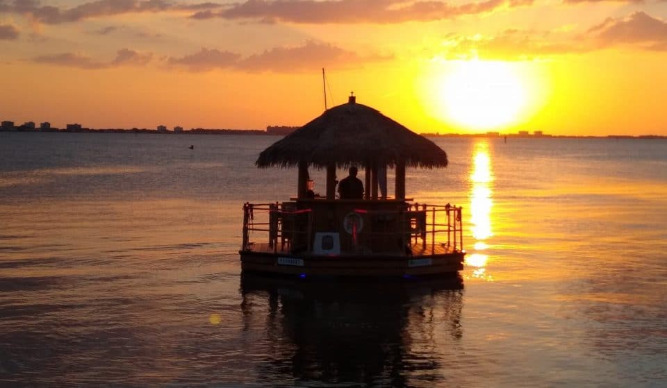 You Can Now Cruise Through The Keys In These Totally Cool Tiki Bar Boats