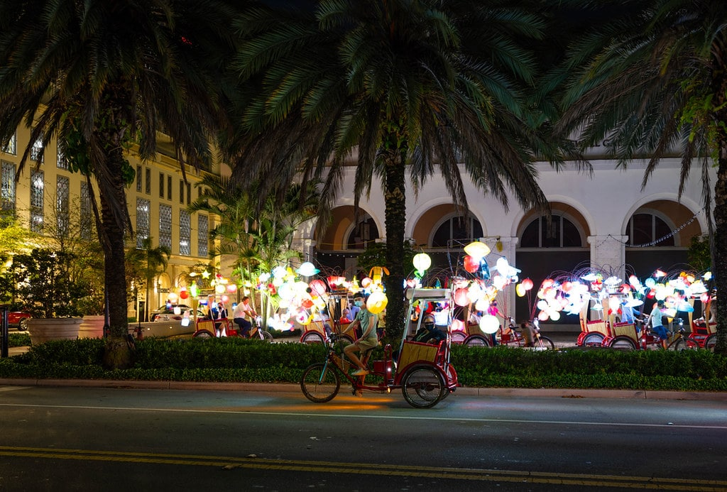 A Dazzling New Art Exhibit Is Lighting Up Coral Gables