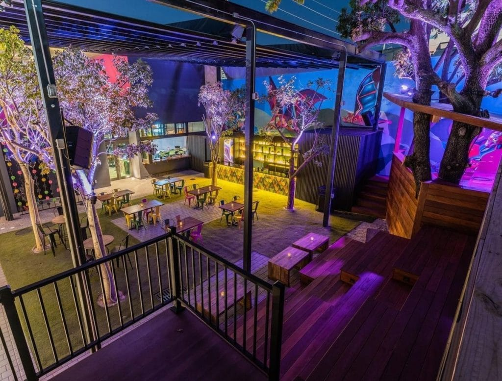This Bright & Colorful Patio In Wynwood Is Miami's one & only Tequila Garden