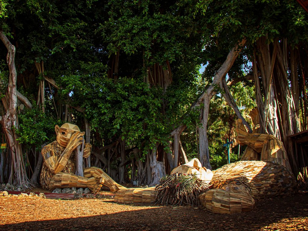 These Giant Trolls May Just Be Miami's Most Curious Residents