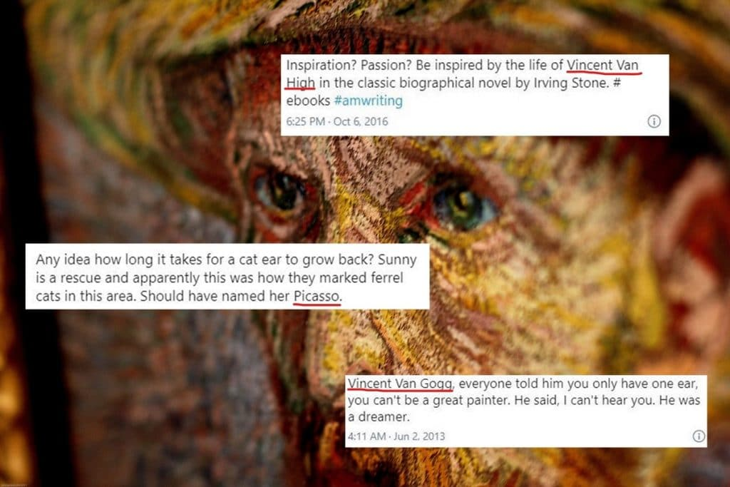10 Times People Hilariously Misspelled 'Vincent van Gogh' On Twitter