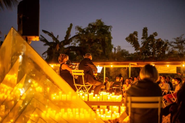 Enjoy Magical Candlelight Concerts In Enchanting Open-Air Settings This Summer
