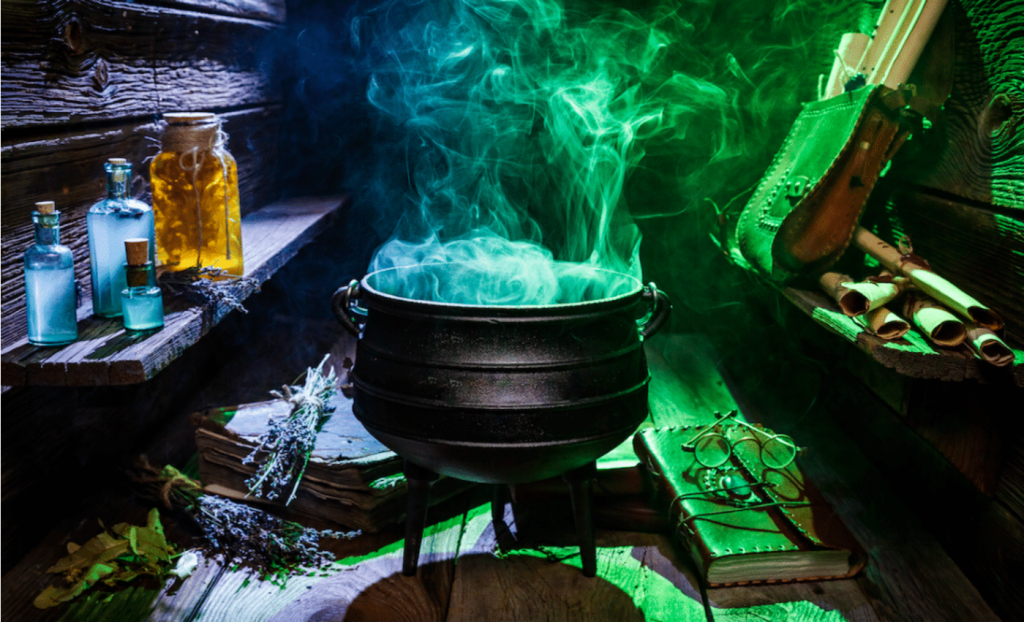 Sip On Crafty Potions Over Ghost Stories At This Boozy Cauldron Cocktail Pop Up